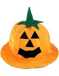 Sombrero De Calabaza De Halloween Traje De Suministros De Lujo Del Partido Del Vestido De Los Apoyos De La Decoración