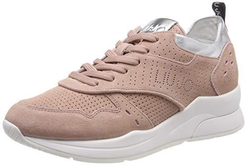 Liu jo shoes karlie 14-sneaker, scarpe da ginnastica basse donna, arancione (peach 31406), 37 eu