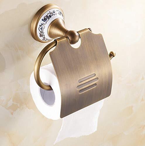 Hängende Wc-papierrollenhalter (LUDSUY Antike Bronzeende Papierhalter/Rollenhalter/Papierrollenhalter, Messing Konstruktion Badezimmer Accessoriesbathroom Zubehör)
