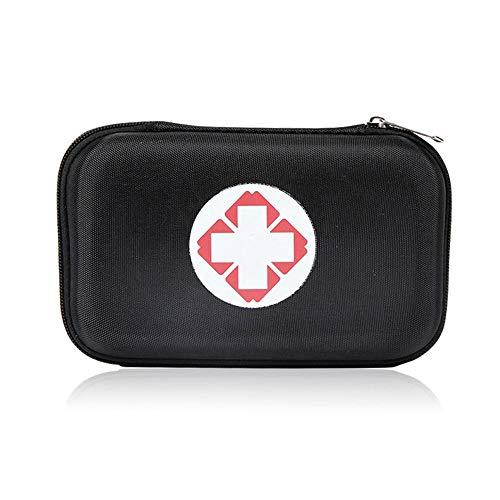 FOONEE Erste-Hilfe-Fall, Vollgepackt mit Krankenhaus-Medizinprodukten für Not- und Überlebenssituationen. Ideal für Auto, Camping, Reise, Sport und Home-Case. -