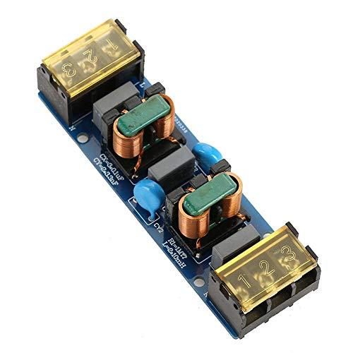EMI-Filtermodulplatine, zweistufige Hochfrequenz-Tiefpassfilterplatine für die Stromversorgung(25A EMI电源滤波器两级滤波)
