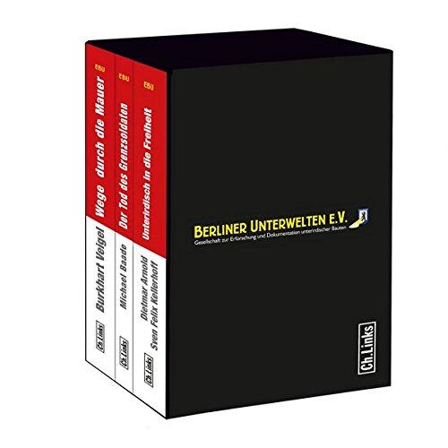 Dreibändiger Schuber der Edition Berliner Unterwelten im Ch. Links Verlag (limitierte Ausgabe!)