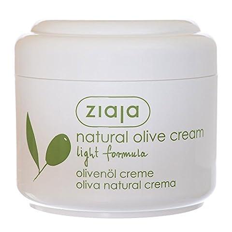Facial Cream - lumière formule - Oliva naturel - 100