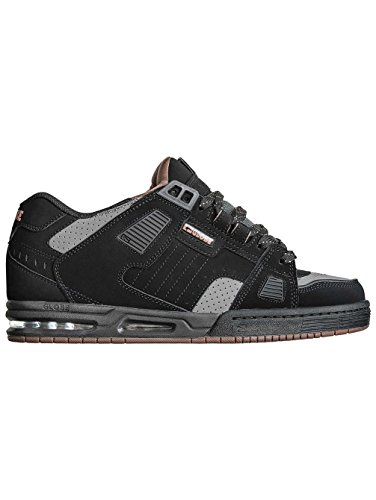 Globe Sabre - Chaussures de Skateboard - Homme Black/Charcoal/Woodsmoke