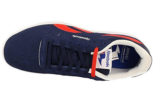 Reebok Royal Slam Sde, Chaussures de Sport Homme Bleu - Azul (Collegiate Navy / Riot Red / White)