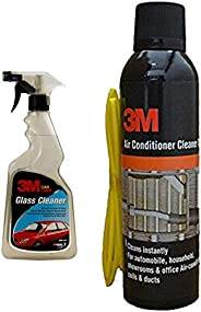 3M Car Glass Cleaner (500ml) & 3M Air Conditioner Cleaner Foam (250ml) Combo