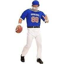 Widmann–Disfraz para adultos, Fútbol americano jugador, Mono y casco