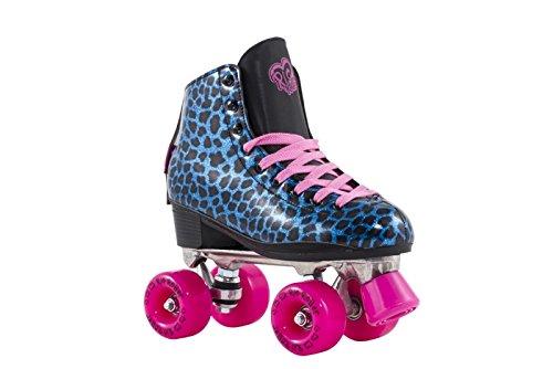Rio Roller - Chic Adults Skate - Leopard/Blue UK 9 / EU 43