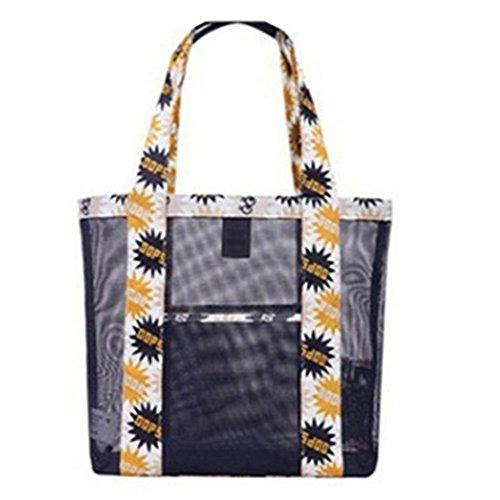 meizu88 Borsa trasparente trasparente della spiaggia della spalla della borsa della caramella delle donne di modo (4#) 3#