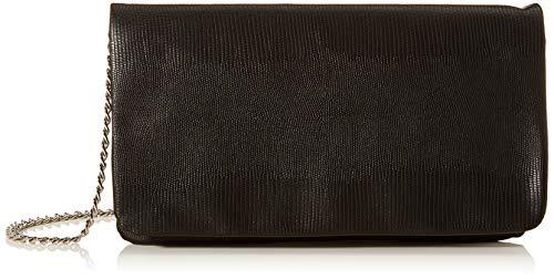 s.Oliver (Bags Damen 39.911.94.2088 Clutch, Schwarz (Grey/Black Aop), 2x14x24 cm