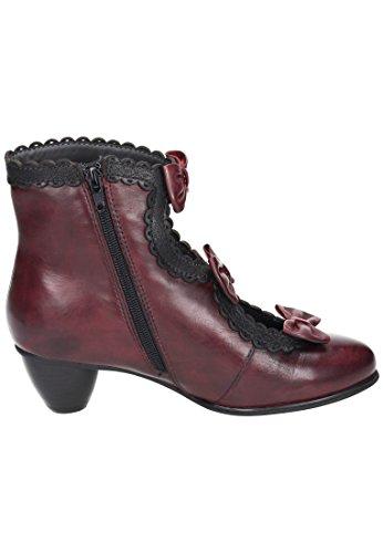 Everybody bottines femme rouge/noir) Rouge - Rouge