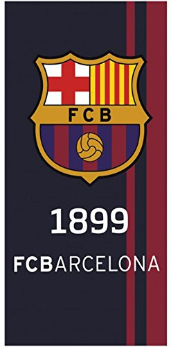 Confort Home M.T TOALLA DE PLAYA FC BARCELONA 100%
