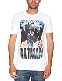 Loudclothing Herren Strandshirt The Dark Knight Rises - Running Flames