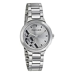 Search Results Fastrack Girls Stainless Steel analog Grey Watches 6150SM01