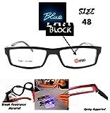 656 - Blue Block (1.60 index) 95% UV 420nm protection against computer/mobile/flurocent light