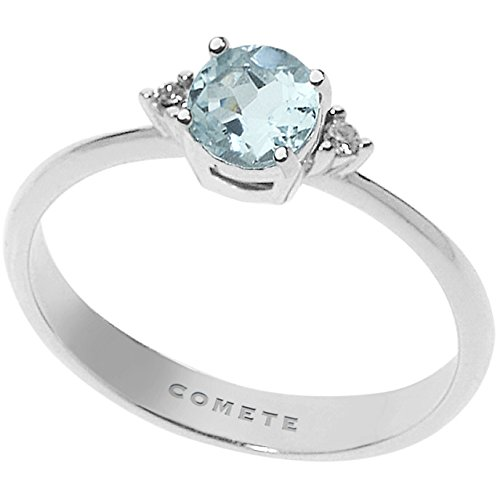 anello donna gioielli Comete Fantasia Di Acquamarina classico cod. ANQ 294