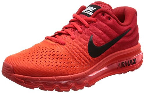 Nike 849559-001, Sneakers Trail-Running Homme Rot (Bright Crimson/University Red/Black)