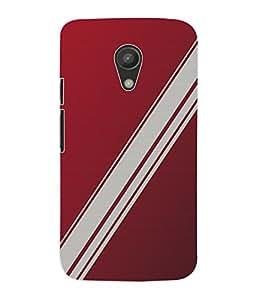 Fuson 3D Printed Colour Pattern Designer Back Case Cover for Motorola Moto G2 - D862