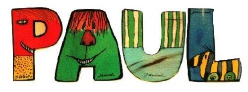 Mihatsch/&Diewald ImseVimse Janosch Buchstaben Holzbuchstaben Leni jeweils ca 6cm Buchstaben-Set