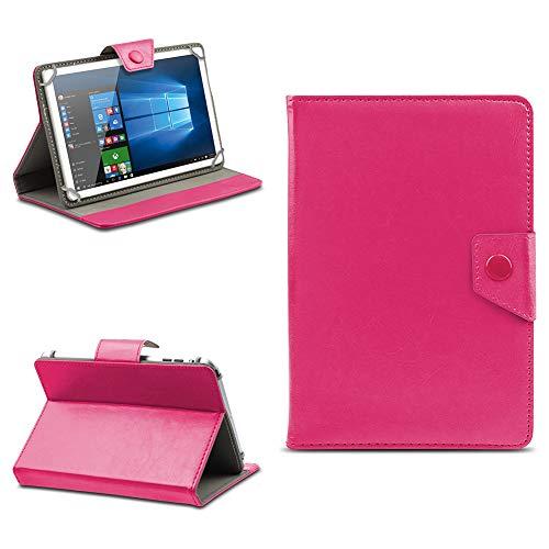 na-commerce Telekom Puls Tablet Hülle Tasche Schutzhülle Case Schutz Cover Stand 8 Zoll Etui, Farben:Pink