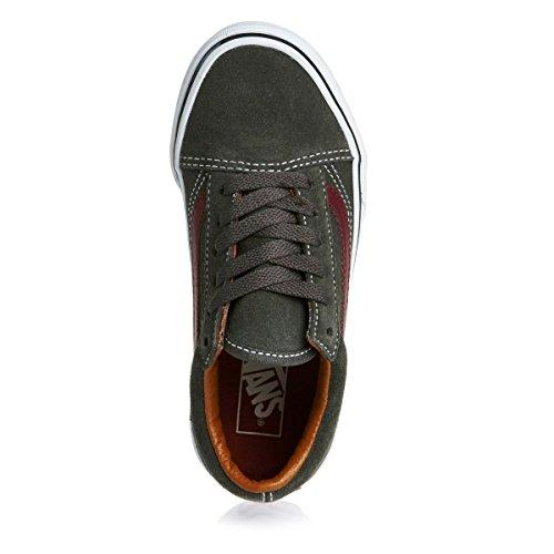 VANS VIEUX SKOOL chaussures en daim gris A38HBOIR chaussures bébé lacets Gris