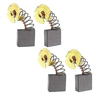 Creative-Idea Juego de 4 escobillas de Carbono compatibles con Makita GA 7020 9020 9027 9029 9040 9047