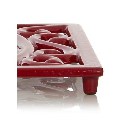 Heavy Duty Heat Resistant Cast Iron Square Trivet -