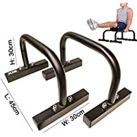 Xn8Fitness Low Parallettes para Crossfit, Calistenia, gimnasia, peso corporal