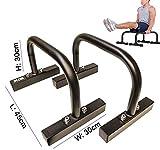 XN8Fitness Low Parallettes für Crossfit, Calisthenics, Gymnastik, Körpergewicht