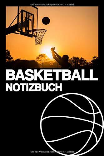 BASKETBALL NOTIZBUCH: Notizbuch | Erfolge | Training | Tricks | Körbe | Geschenk | kariert | ca. DIN A5