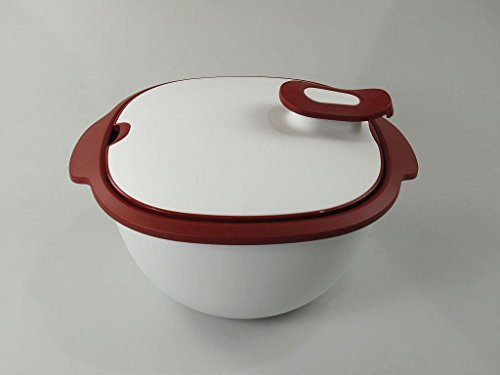 TUPPERWARE Thermo-Duo Warmie Tups ciotola, 3,25 l, Rosso