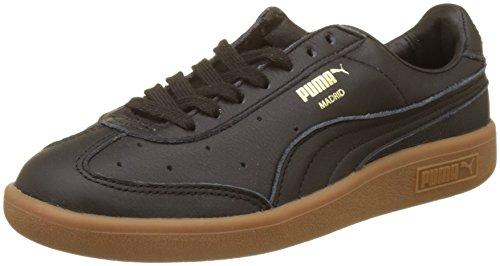 Puma Madrid Premium, Sneakers Basses Mixte Adulte Noir (Puma Black-puma Team Gold)