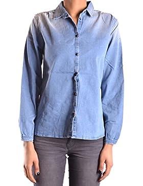 Meltin'pot Mujer MCBI340045O Azul Algodon Camisa