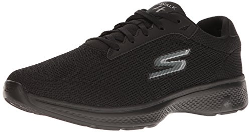 skechers-men-go-walk-4-low-top-sneakers-black-bbk-10-uk-44-1-2-eu