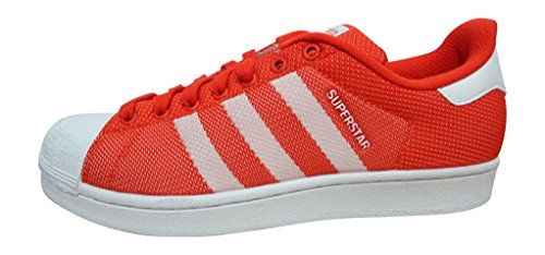 adidas  Adidas Superstar, Baskets mode pour homme ROUGE BLANC bb4976