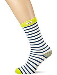 Scotch & Soda Ams Blauw Moonshine Striped Socks, Chaussettes Homme