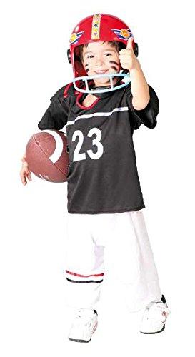 Football Spieler - Kostüm für Kinder Gr. 110 - 146, Größe:140/146