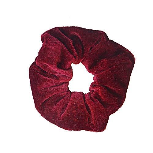 Multi Plaid Reversible Hut - Bunt Scrunchies,Damen Polka Dot Plaid Hair