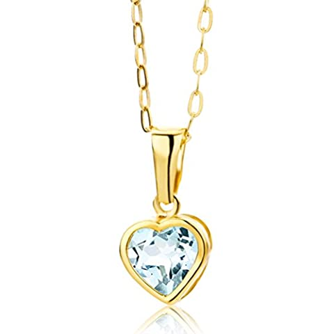 Miore - Collier Femme - Or jaune 375/1000 (9 carats)