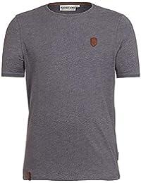 NAKETANO Café Full T Shirt für Herren Grau