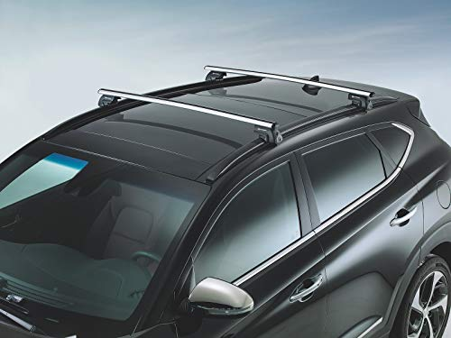 Hyundai Dachgepäckträger Original Tucson Aluminium (Hyundai Dachträger)