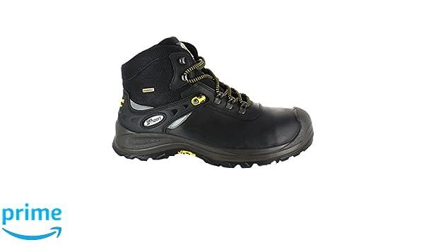 Grisport 74049CD8Y, Chaussures de sécurité S3 homme - Noir, 42 EU