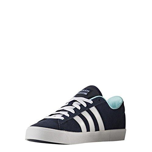 Adidas Damen Cloudfoam Daily Qt W Turnschuhe, Navy Collegiale / Ftwr White / Clear Aqua Blue