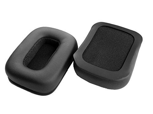 ersatz - ohrpolster ohrschalten leder kissen ersatzteile für verrückt catz tritton kunai stereo - headset und ps4 schwarm schnurlos - kopfhörer (1 pair)