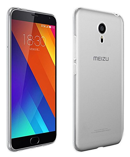 SDO™ Ultra Thin Silicone Soft Jelly Back Case Cover for Meizu M3 Note (Transparent)  available at amazon for Rs.149