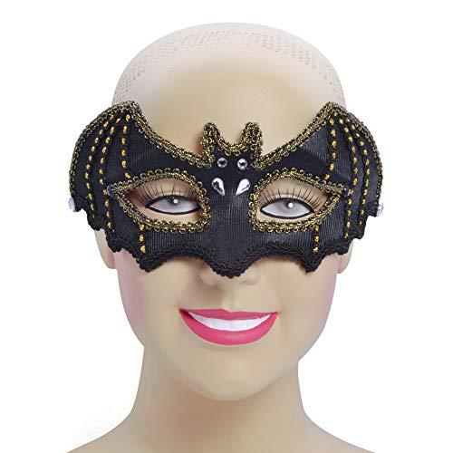 Bristol EM732 - Máscara para mujer (talla única), color negro y dorado
