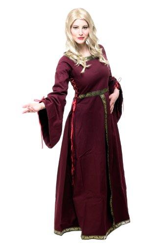 Kostüm Damen Damenkostüm Kleid Mittelalter Romanik Gotik Gothic Burgfräulein L054 Gr. 46 / L - 6