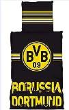 BVB / Borussia Dortmund 022759-2200 Bettwäsche Linon SCHRIFTSKYLINE