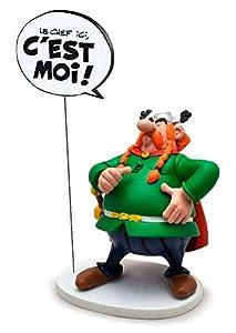 Plasplug Toy SAS pla00127No Asterix: majestix con Bocadillo: Le Chef Ici, C