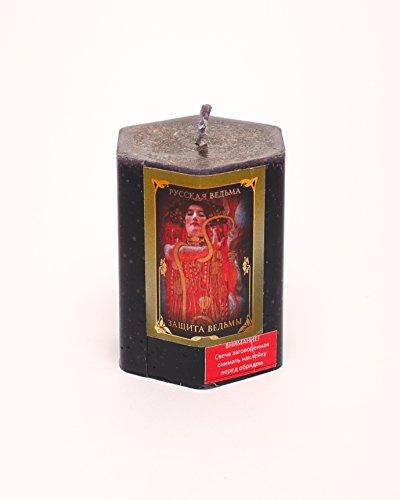 Der Schutz Hexe Kräuter Kerze Wicca Pagan - Hexe Kraut
